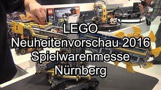 getlinkyoutube.com-LEGO Neuheiten Sommer 2016 auf der Toy Fair Nürnberg (u.a. 42055 Bucket Wheel Excavator)
