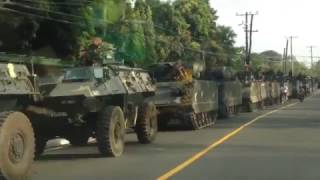 Philippine Army's Light Armored Vehicles Convoy | Armed Forces of the Philippines