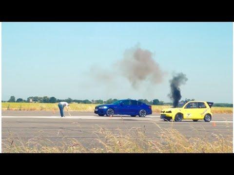 BMW M5 против дизельного Seat Arosa: кто кого? — Новости — Motor