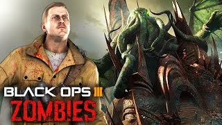 getlinkyoutube.com-Black Ops 3 Zombies - Cthulhu Boss Fight! Easter Eggs of the Future!