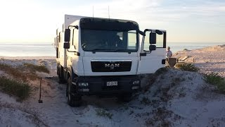 getlinkyoutube.com-Yorke Peninsula Camping in MAN 4x4 Expedition Truck/Camper