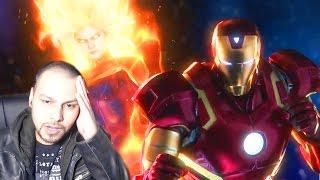 getlinkyoutube.com-Marvel Vs Capcom Infinite Reveal REACTION! - Marvel Vs Capcom Infinite Iron Man & Mega Man X