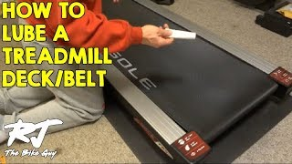 getlinkyoutube.com-How To Lubricate A Treadmill