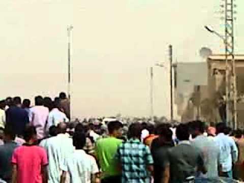 الحسكة-حي غويران تشييع جنازة حسون صالح الفلس 12-9-2012