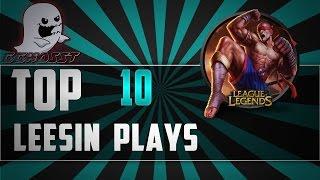 getlinkyoutube.com-Lee Sin Top 10 Plays | League Of Legends