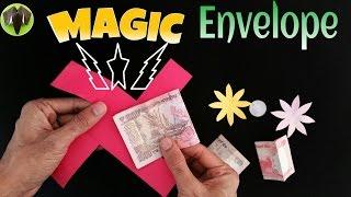 "getlinkyoutube.com-Tutorial to make a Paper ""Magic Envelope""   Anyone can do this trick"