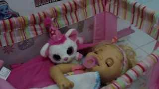 getlinkyoutube.com-CUIDANDO DA CHARLIE BABY ALIVE TRONINHO - Julia Silva