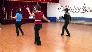 getlinkyoutube.com-Come On And Tango - Line Dance (Dance & Teach)