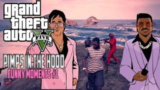getlinkyoutube.com-GTA Pimps In Da Hood - Funny Moments #1 | Fan Made By: @MansFID