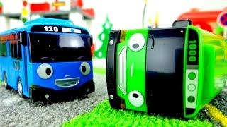 Машинки Мультики развивающие: Автобус Тайо! Ссора. Игрушки из мультфильма 타요 꼬마버스