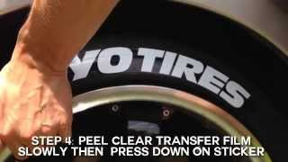 getlinkyoutube.com-Toyo Tires Peel & Stick Tire Stickers - Application Guide