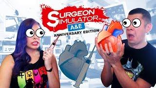 "getlinkyoutube.com-""CALLING DR.MARIO"" - Co-Op- Surgeon Simulator: A&E Anniversary Edition"