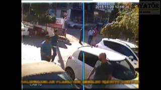 Beyti Restoran sahibi Mehmet Okumuş'a yapılan saldırı