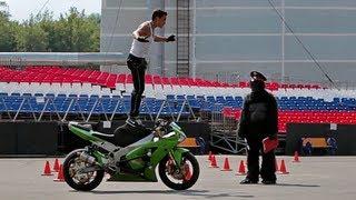 """getlinkyoutube.com-Экзамен на Категорию """"А"""" Мотоцикл"""