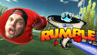 SquiddyPlays - ROCKET LEAGUE RUMBLE! - 1v1 W/Speedy