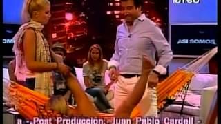 getlinkyoutube.com-Así Somos: Pilar Ruiz y Eduardo Fuentes en el hamakasutra