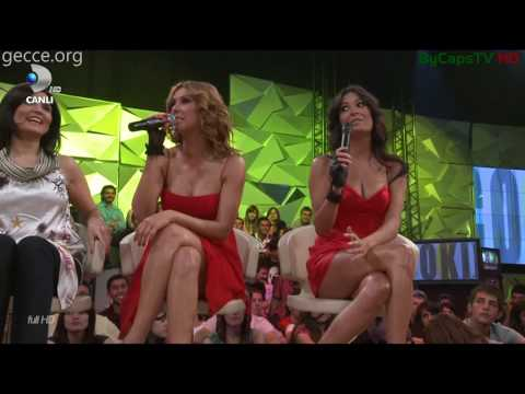Full HD 1080   Ebru Destan & Irmak Atuk Minili Bacakları ve Frikik  ByCapsTV HD 