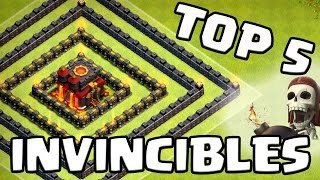getlinkyoutube.com-Clash of Clans | TOP 5 Bases INVINCIBLES | Les meilleurs villages GDC du moment | Français