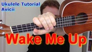 getlinkyoutube.com-Wake Me Up - Avicii (Ukulele Tutorial)