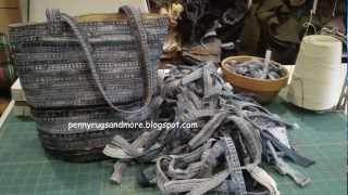 getlinkyoutube.com-Denim Bag Tutorial