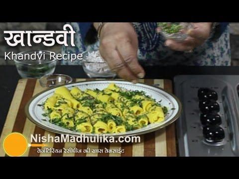 Khandvi Recipe video