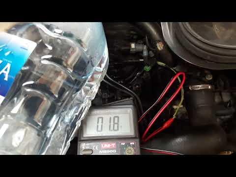 Fiat Scudo 2008 - Проверка работы терморезистора в крышке фильтра.