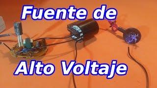 getlinkyoutube.com-Fuente de Alto Voltaje con Lampara Ahorradora y Flyback
