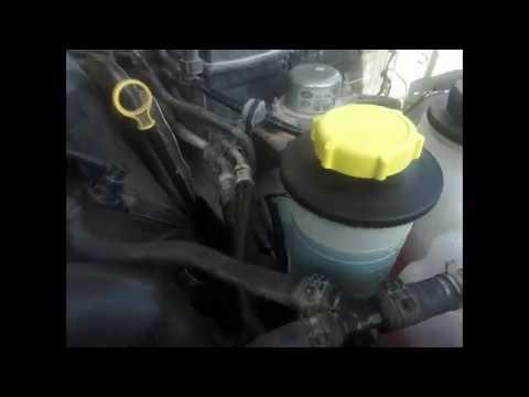 Замена жидкости ГУР Land Rover Range Rover Sport 06