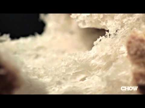 Food Flash - Slow Motion Tearing Bread