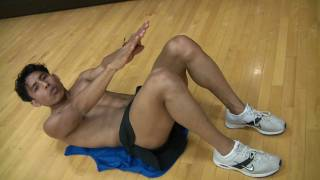Alex Dominguez Show 5: como hacer el abdomen fuerte con abdominales view on youtube.com tube online.