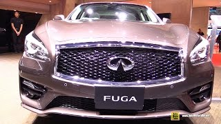 getlinkyoutube.com-2016 Infiniti Fuga GT370 Type S ( Q70 ) - Exterior and Interior Walkaround - 2015 Tokyo Motor Show