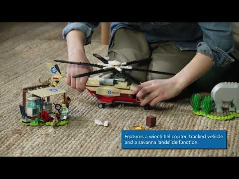 LEGO City Wildlife Rescue Operation - 60302