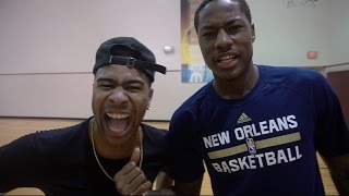 getlinkyoutube.com-1 V 1 AGAINST NBA SUPERSTAR ARCHIE GOODWIN!! LOSER GETS PAINFUL PUNISHMENT!!!