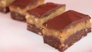 getlinkyoutube.com-Prajitura cu biscuiti, nuci si glazura de ciocolata