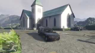 getlinkyoutube.com-Grand Theft Auto V GTA 5 online PS4 The Hearse Funeral Car How to get it Location