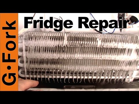 Refrigerator Repair - Freezer Coils Frozen - Refrigerator Is Warm - GardenFork
