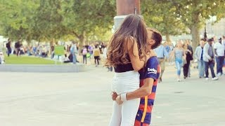 getlinkyoutube.com-Kissing Prank - Neymar Jr Kissing Girls (2015)