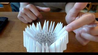 getlinkyoutube.com-3D Origami Swan