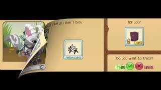 getlinkyoutube.com-Animal Jam Magenta Hockey Mask Trade Attempts