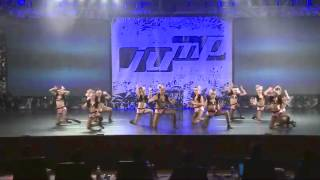 getlinkyoutube.com-ALDC Mini Jazz Line - Jump Dance Convention 2/15/14 Maddie Mackenzie Nia Kendall