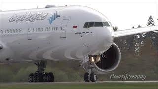 getlinkyoutube.com-NEW Garuda Indonesia Boeing 777-300ER Test Flight @ KPAE