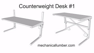getlinkyoutube.com-Counterweight Desk #1