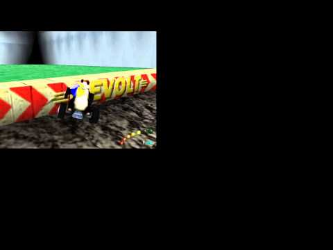 Re Volt Game Mode Practice track РАЛЛІСКРОС car Panga
