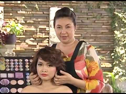 Tạo kiểu cho tóc ngắn - Chuyên viên Thu Cúc
