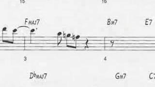 "getlinkyoutube.com-Animated Sheet Music: ""Giant Steps"" by John Coltrane"