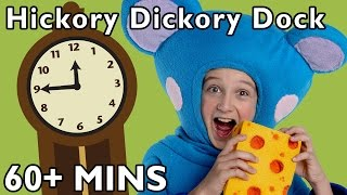 getlinkyoutube.com-Hickory Dickory Dock and More | Nursery Rhymes from Mother Goose Club