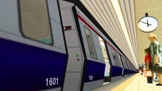 "getlinkyoutube.com-[OpenBVE]istanbul Metro M2 ""Taksim - 4.Levent"" Istasyon"