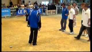 getlinkyoutube.com-International - Petanque BRON : Sarrio vs Fazzino