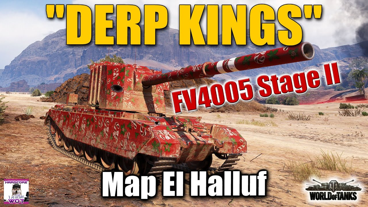 FV4005 Stage II  DERP TIME  best World of Tanks games