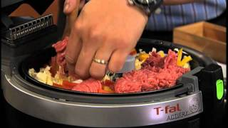 getlinkyoutube.com-Chef Ming Tsai uses T-fal ActiFry to make Larb